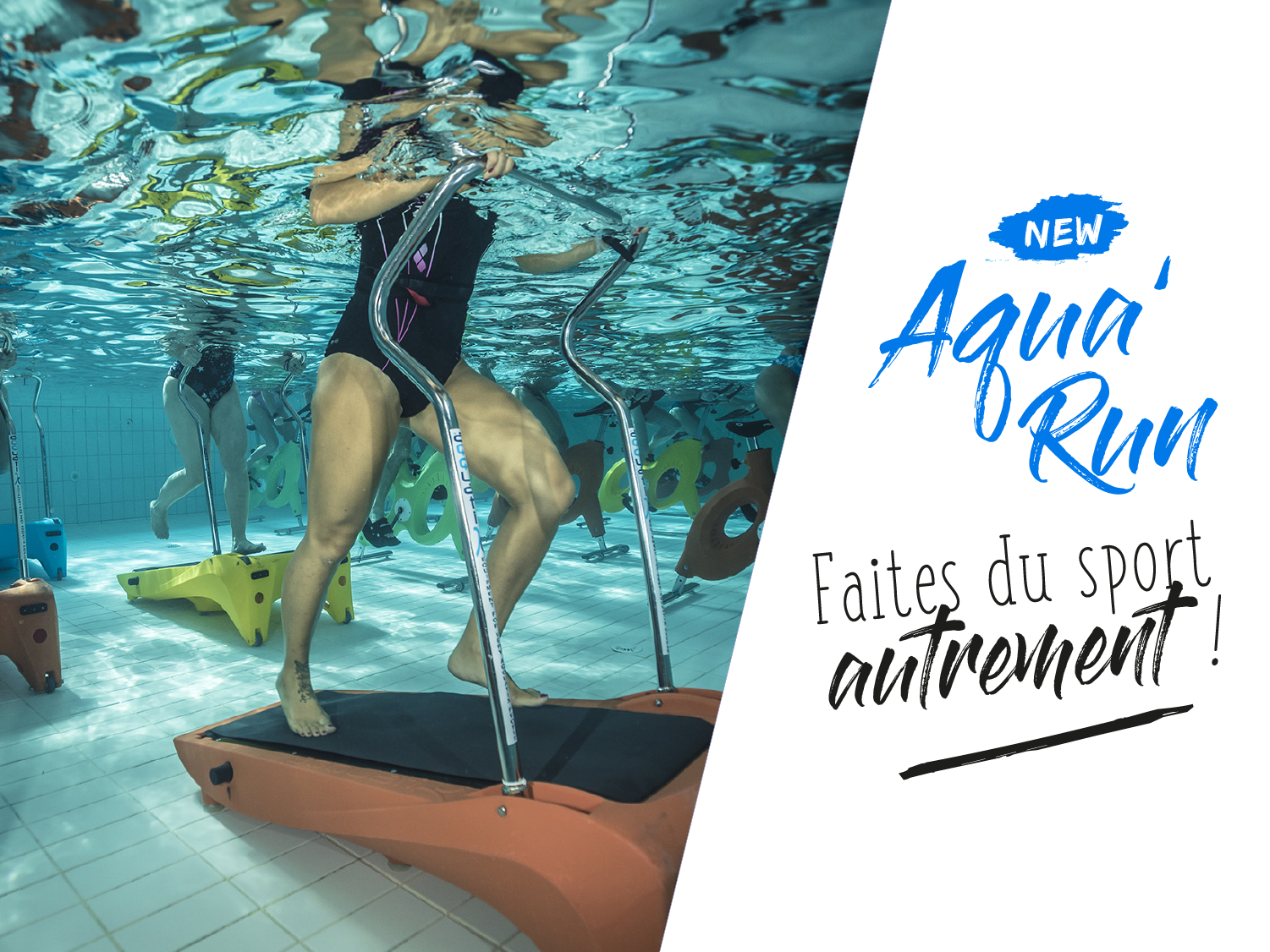 Aquavilla aquarun, tapis de course aquatique