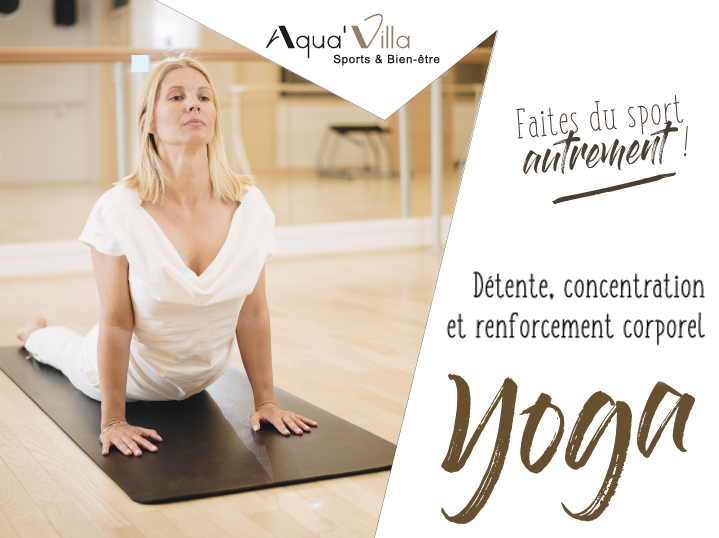 aquavilla yoga, détente, respiration et concentration