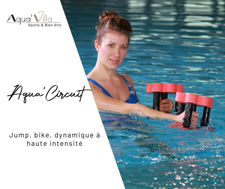 Aquavilla aquacircuit, circuit training de sports aquatiques