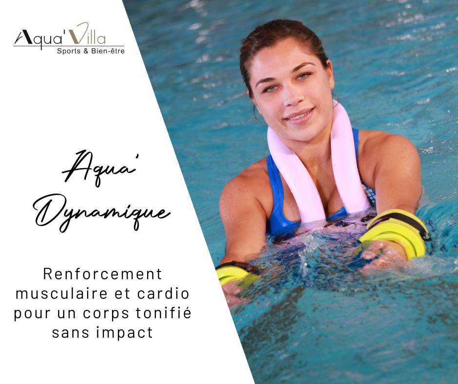 Aquavilla aquagym douce, gymnastique douce en piscine