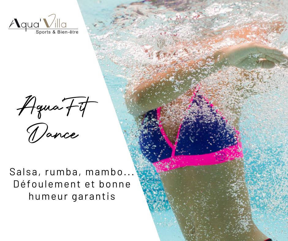 Aquavilla aqua fit dance, aquazumba danse sportive en piscine
