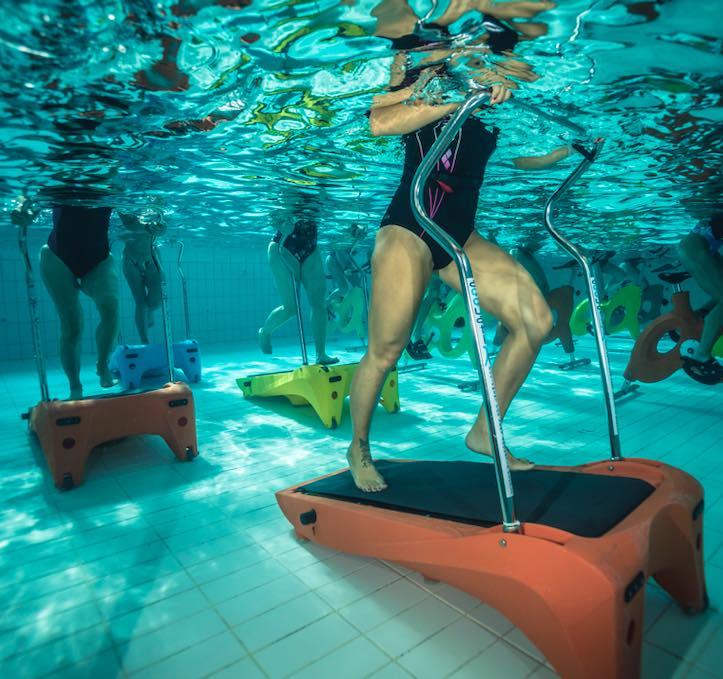 aqua run, tapis de course en piscine