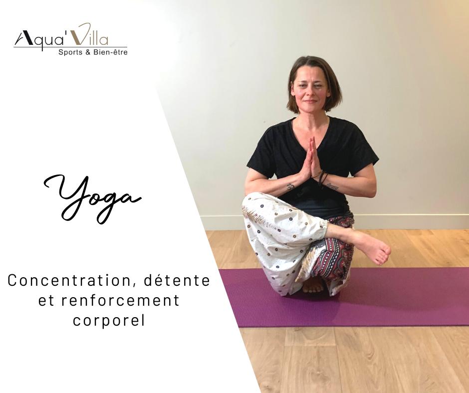 aquavilla yoga, détente, respiration et concentration