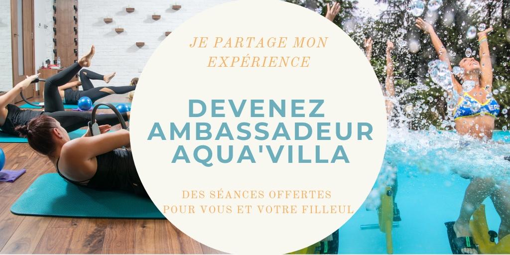 devenir ambassadeur Aqua'Villa - programme de parrainage